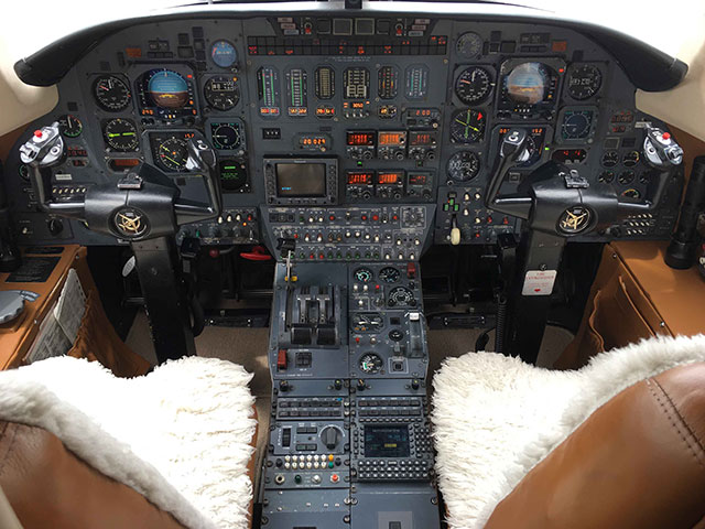 1984 Citation III S/N 650-0032 (Cockpit View)