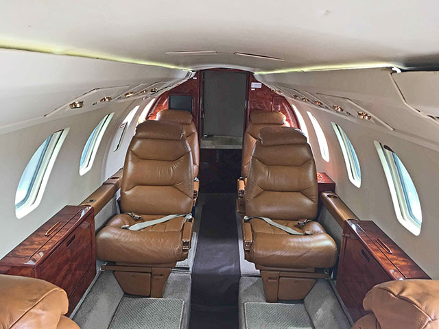 1984 Citation III S/N 650-0032 (Interior View)